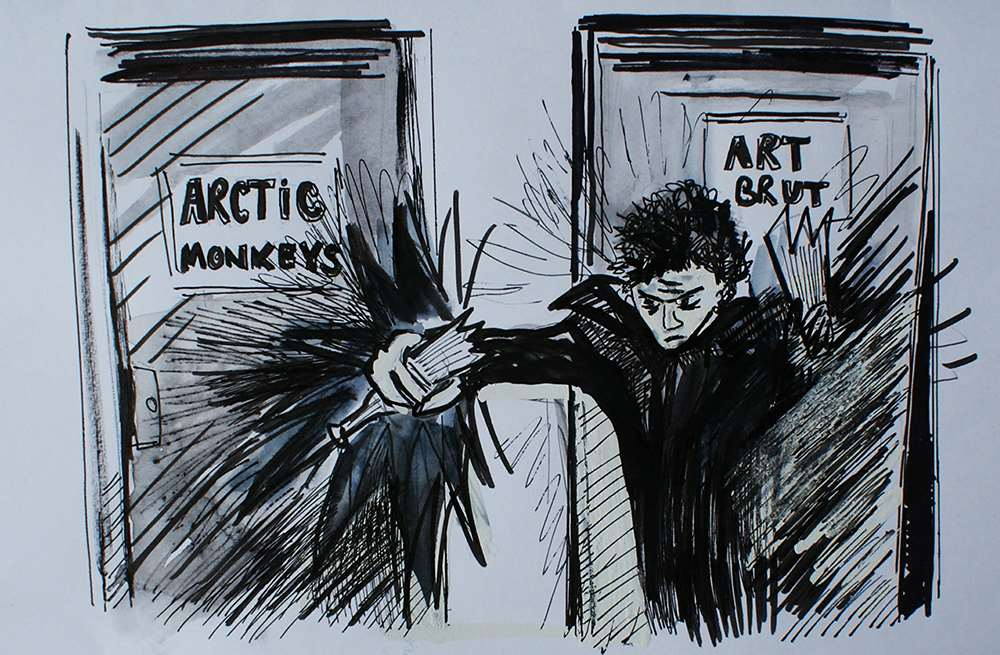 A Fight with the Arctic Monkeys