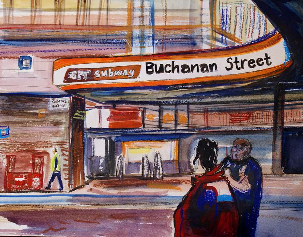 Buchanan Street Subway